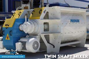 ny PROMAX 2 m3 /3 m3 TWIN SHAFT MIXER betongblander
