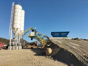 ny PROMAX Mobile Concrete Batching Plant M60-SNG (60m3/h) betongfabrikk