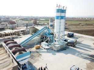 ny FABO POWERMIX-100 STATIONARY CONCRETE BATCHING PLANT betongfabrikk