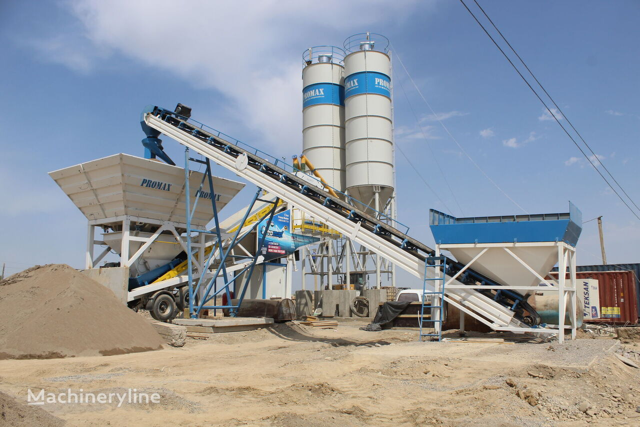 ny PROMAX Centrale à béton mobile M100-TWN (100m / h) betongfabrikk