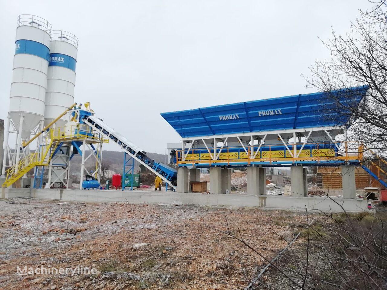 ny PROMAX Compact Concrete Batching Plant C60-SNG-LINE (60m3/h) betongfabrikk