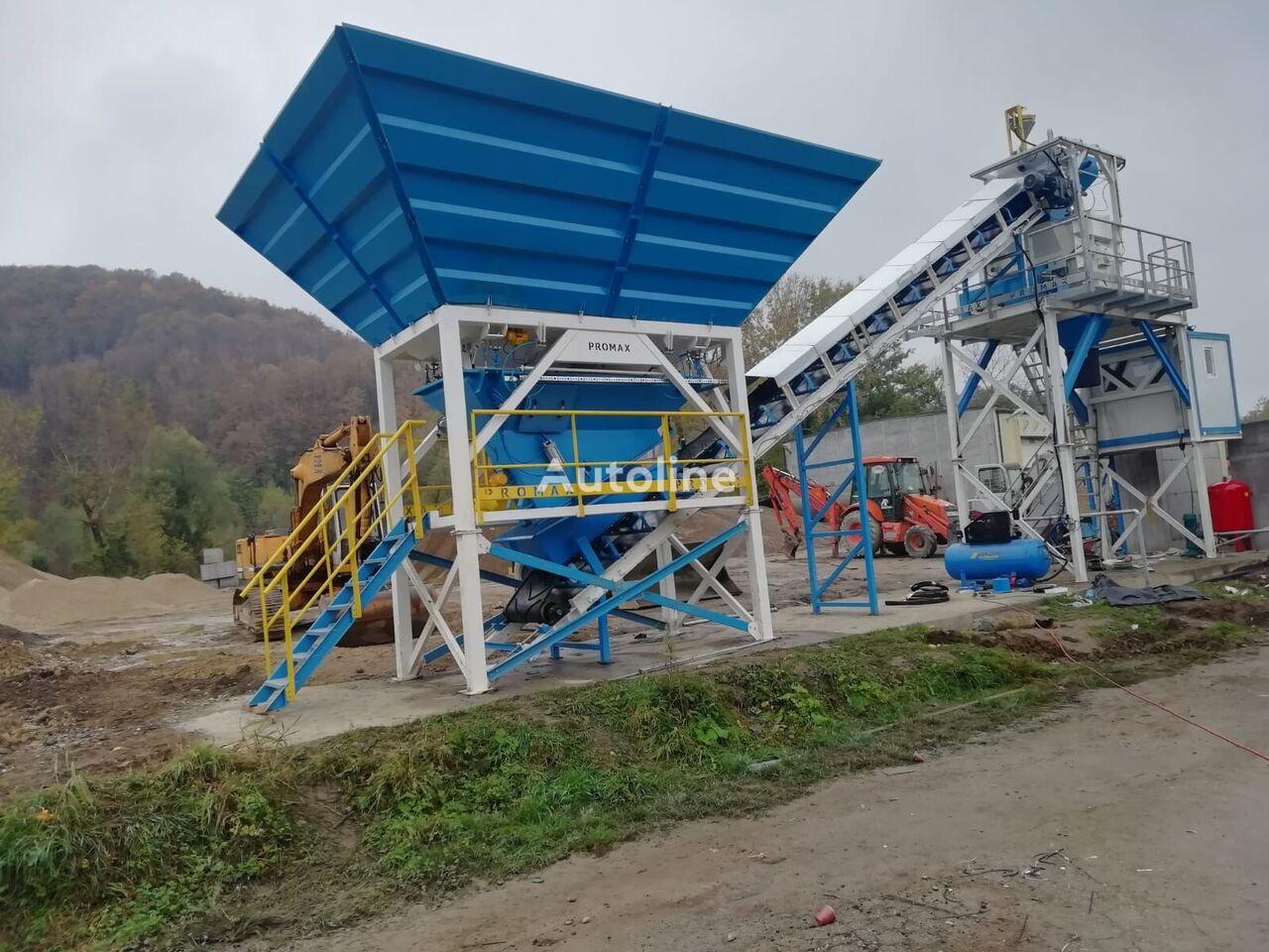 ny PROMAX Compact Concrete Batching Plant PROMAX C60 SNG PLUS(60m³/h) betongfabrikk