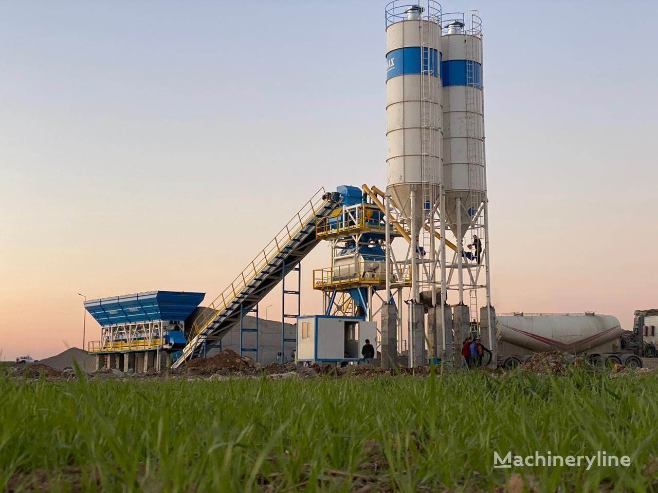 ny PROMAX S130-TWN (130m/h) STATIONARY betongfabrikk