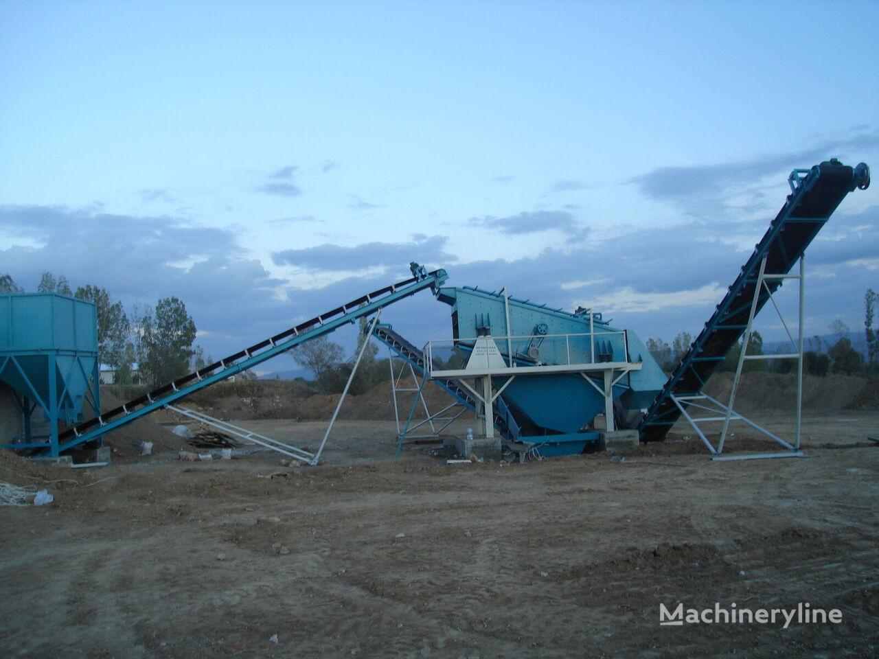 ny POLYGONMACH 150 tons per hour stationary crushing, screening, plant knuseverket
