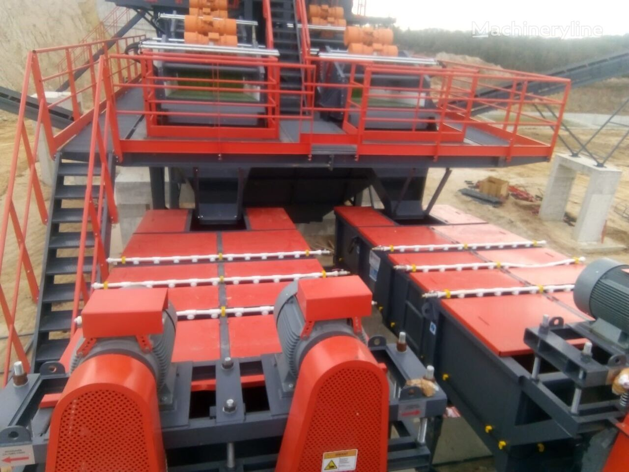 ny POLYGONMACH LW25 Log washer for aggregate and sand washing plant knuseverket