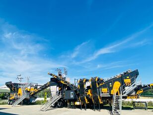 ny FABO MCK-95 MOBILE CRUSHING & SCREENING PLANT | JAW+CONE mobile knuseverket