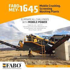 ny FABO MEY 1230 TPH MOBILE SAND SCREENING & WASHING PLANT sikteverk